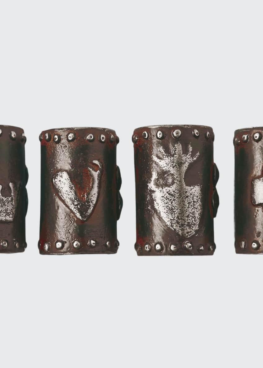 Jan Barboglio Milagro Napkin Rings, Set of 4