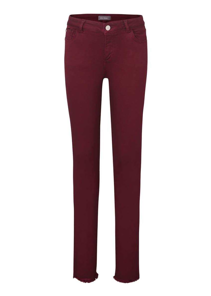 DL 1961 Girl's Chloe Colored Denim Skinny Jeans,