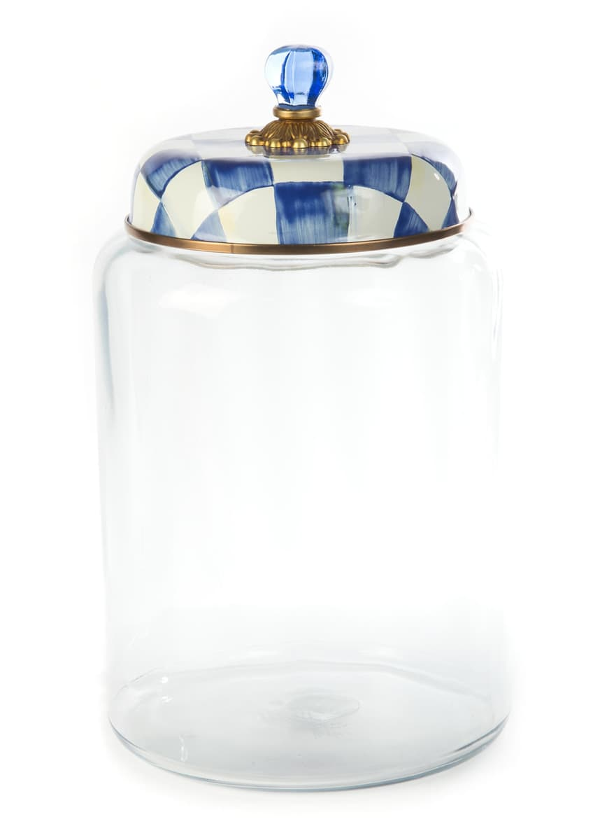 Image 1 of 1: Royal Check Storage Canister