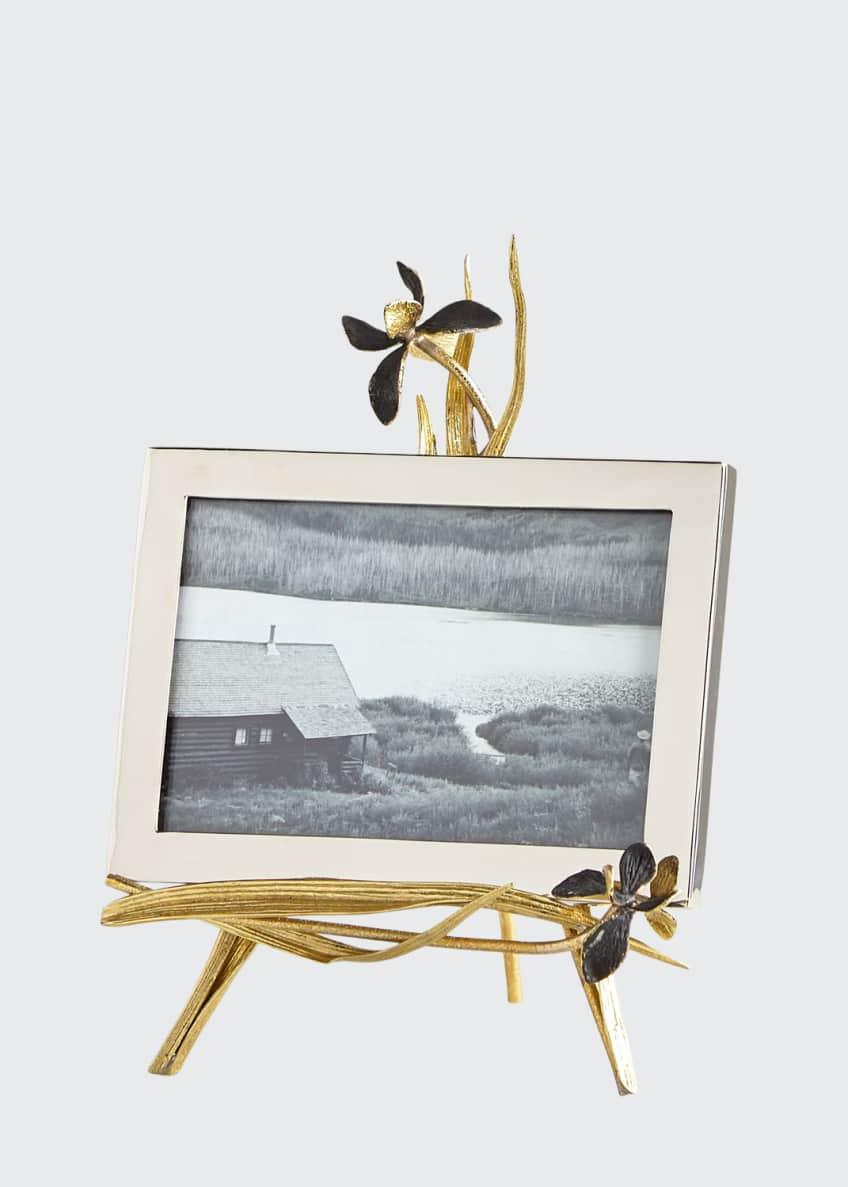 Michael Aram Black Iris Easel Frame, 5