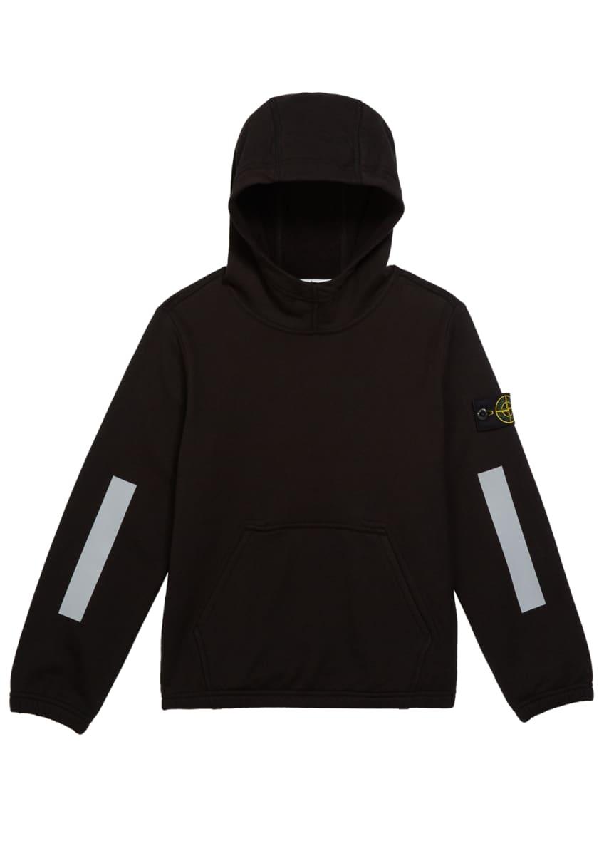 Stone Island Boys' Hooded Sweatshirt w/ Kangaroo Pocket