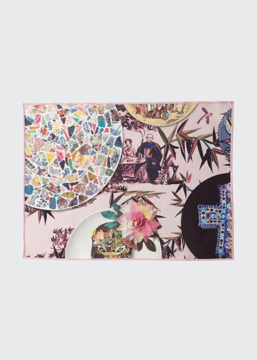 Designers Guild Folie Rose Pink Placemats, Set of