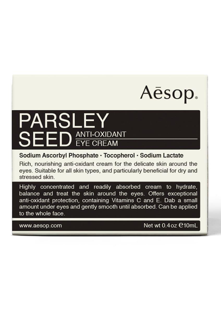 Aesop Parsley Seed Anti-Oxidant Eye Cream, 10 mL - Bergdorf Goodman