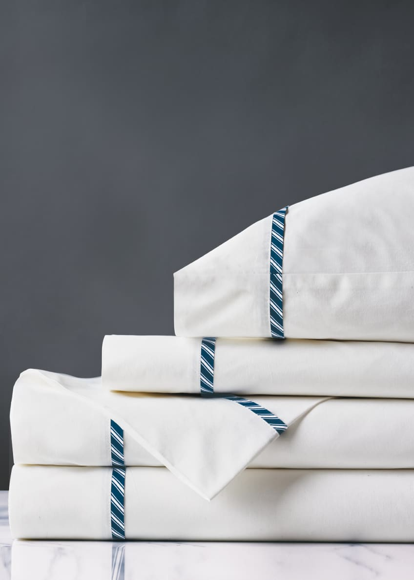 Image 1 of 1: Newman Ink Queen Sheet Set