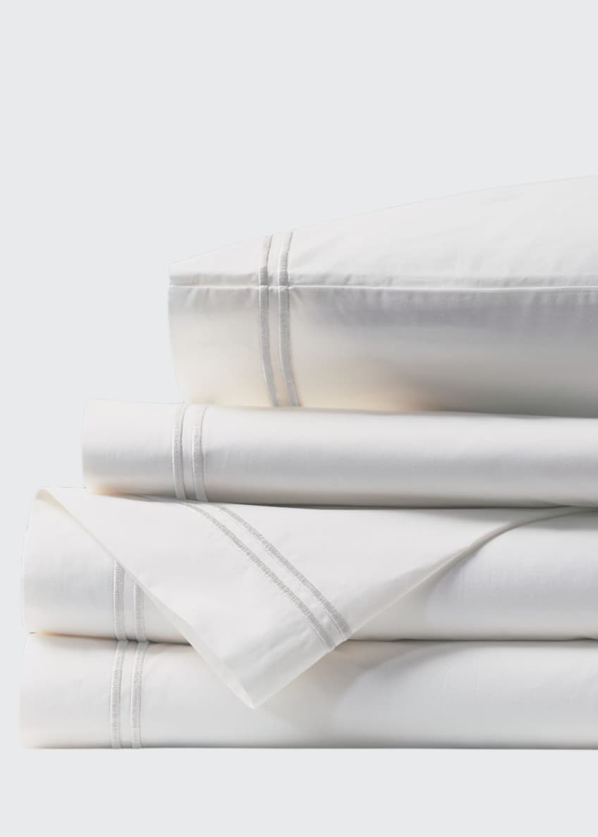 Eastern Accents Enzo King Sheet Set, White
