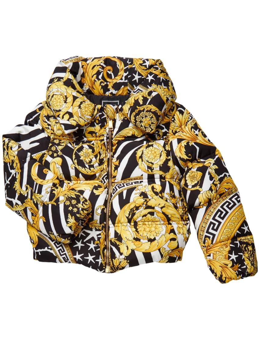 Versace GIRLS PUFFER COAT & Matching Items