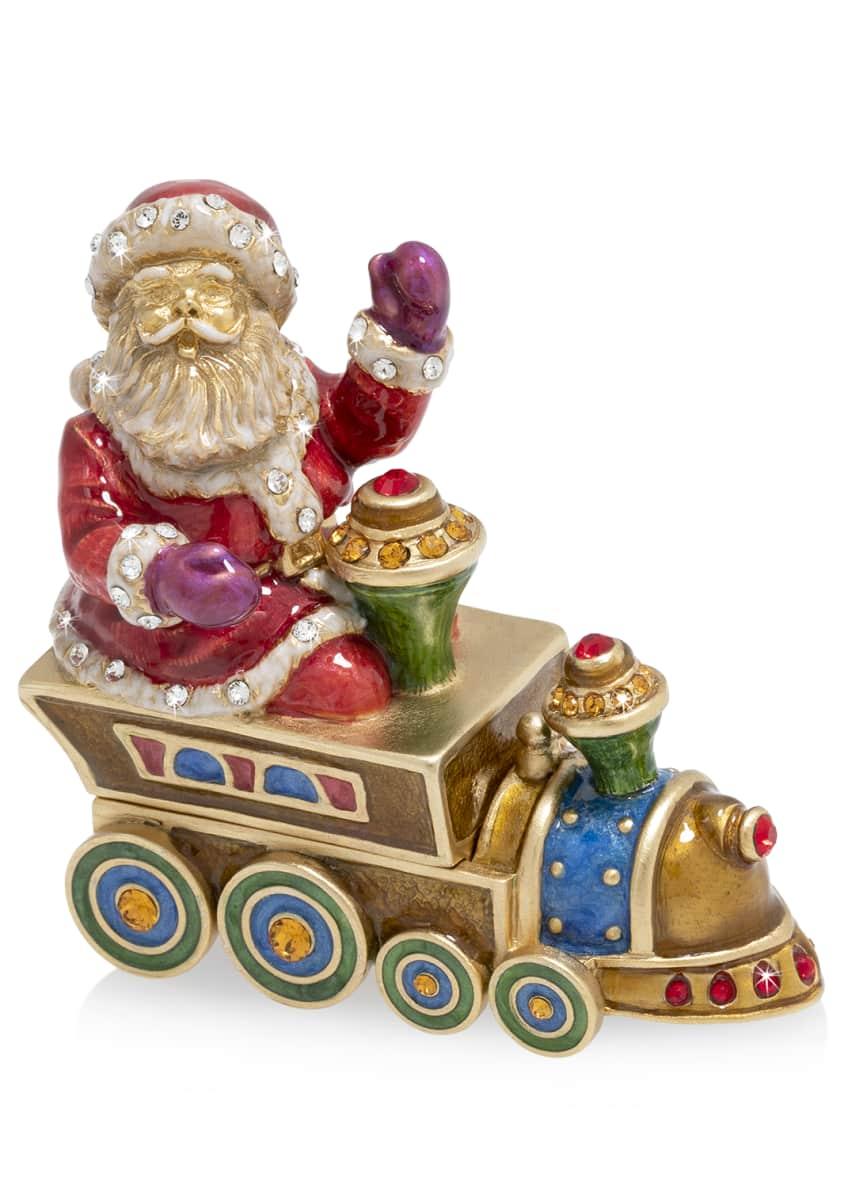 Jay Strongwater 2019 Santa on Train Annual Box
