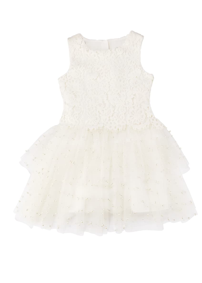 Charabia Special Occasion Tulle Dress, Size 4-8 &