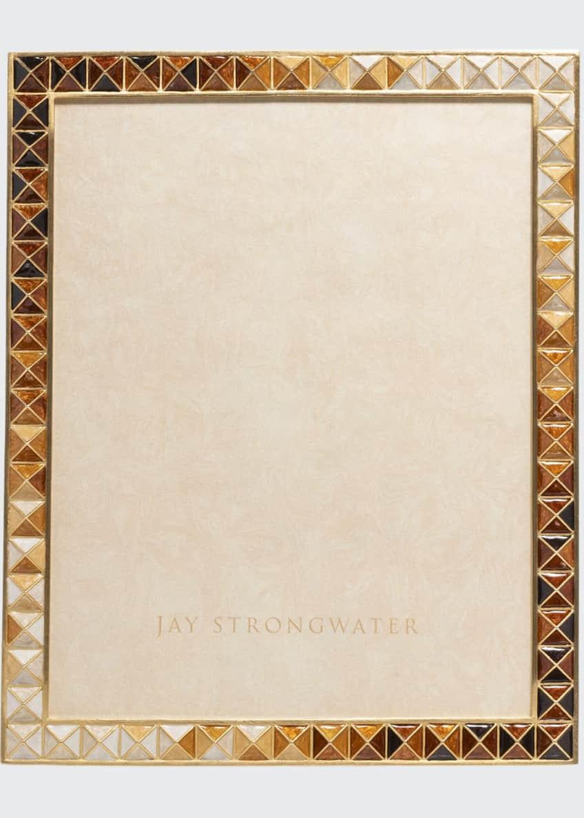 Jay Strongwater Topaz Pyramid Frame, 8