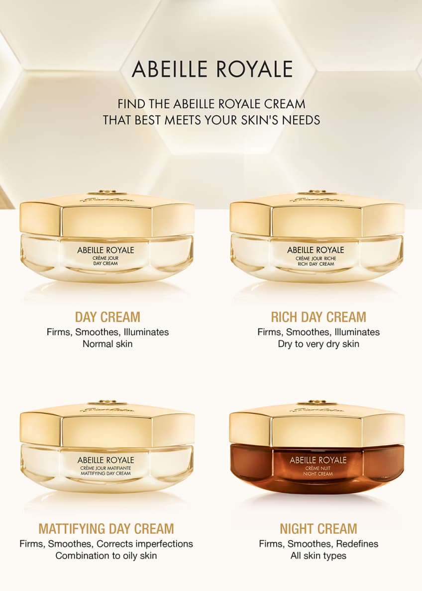 Guerlain 1.6 oz. Abeille Royale Anti-Aging Rich Day Cream - Bergdorf Goodman