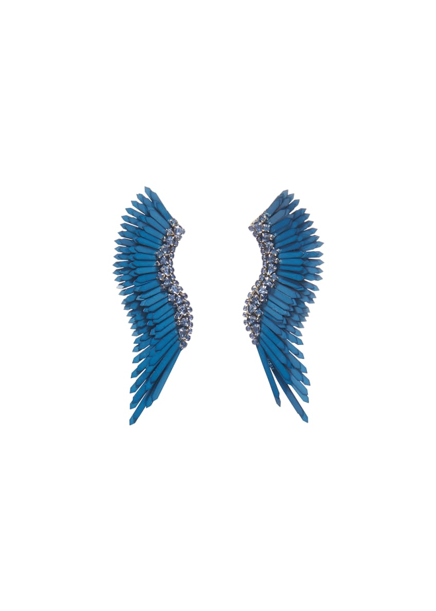 Image 1 of 2: Mega Madeline Pearly Winged Earrings
