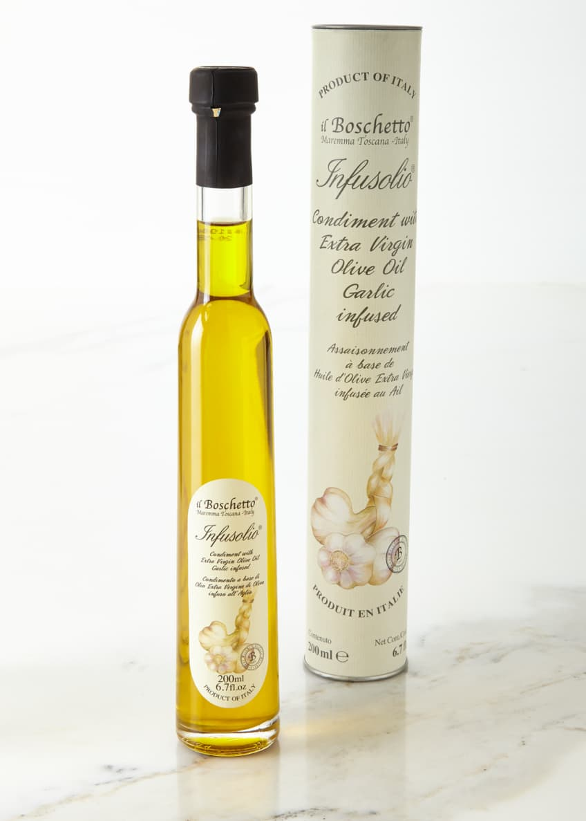 Il Boschetto Garlic Infused Extra Virgin Olive Oil,