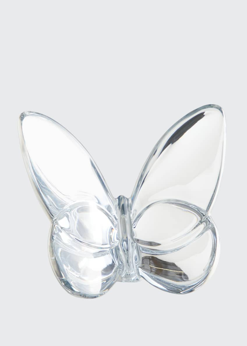 Baccarat Silver Lucky Butterfly
