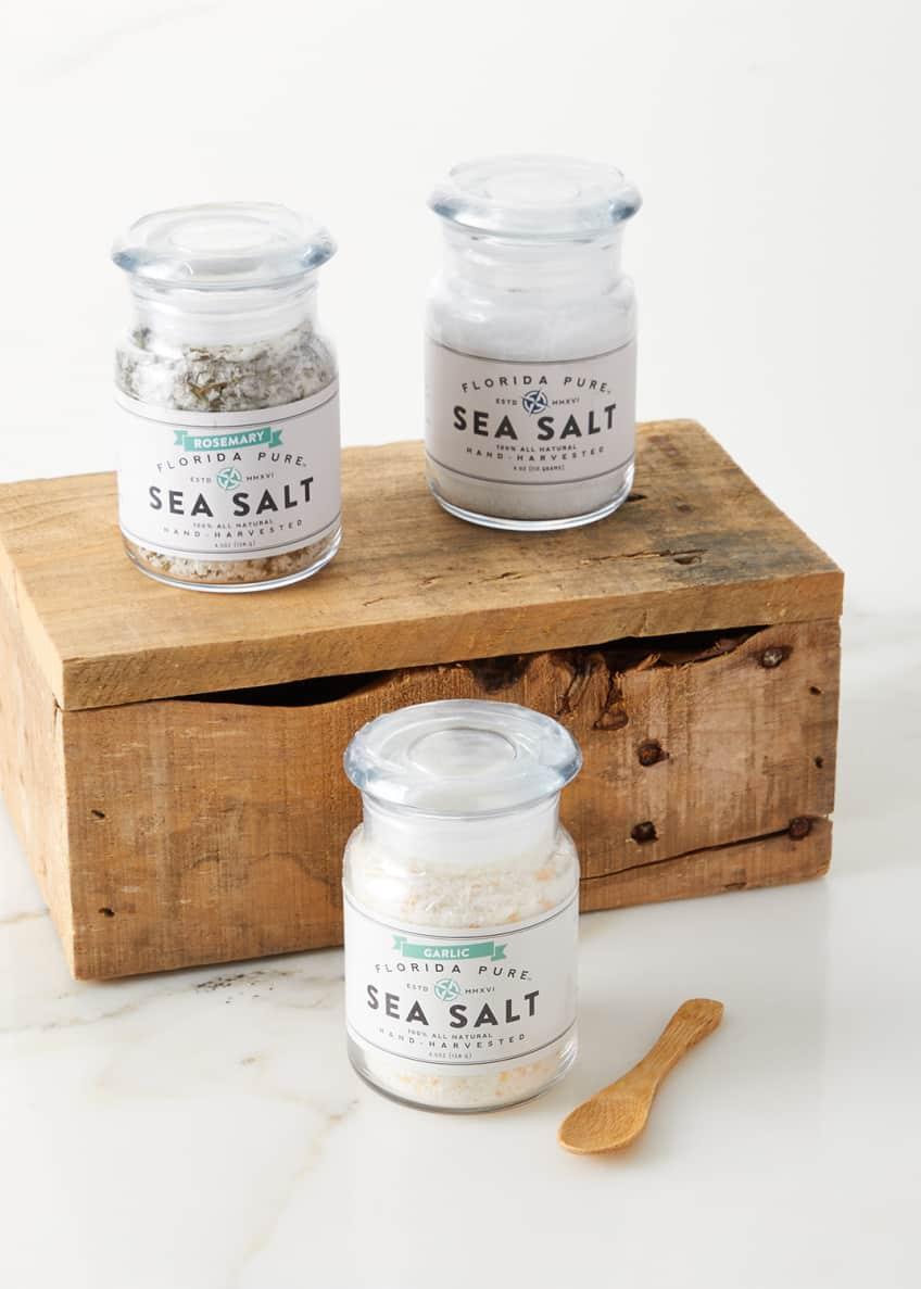 Florida Pure Sea Salt Sunshine Wooden Gift Box