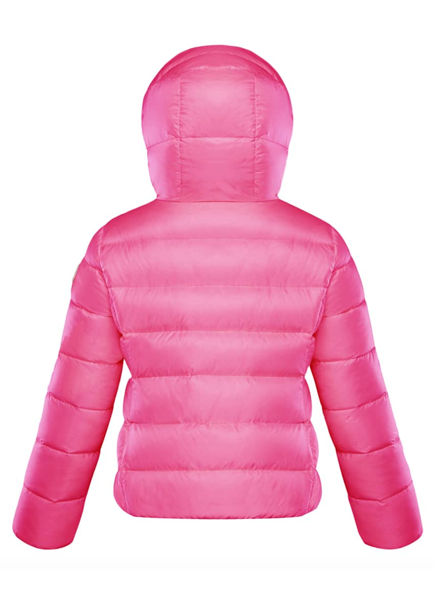 Image 2 of 4: Chevril Hooded Puffer Coat, Size 4-6
