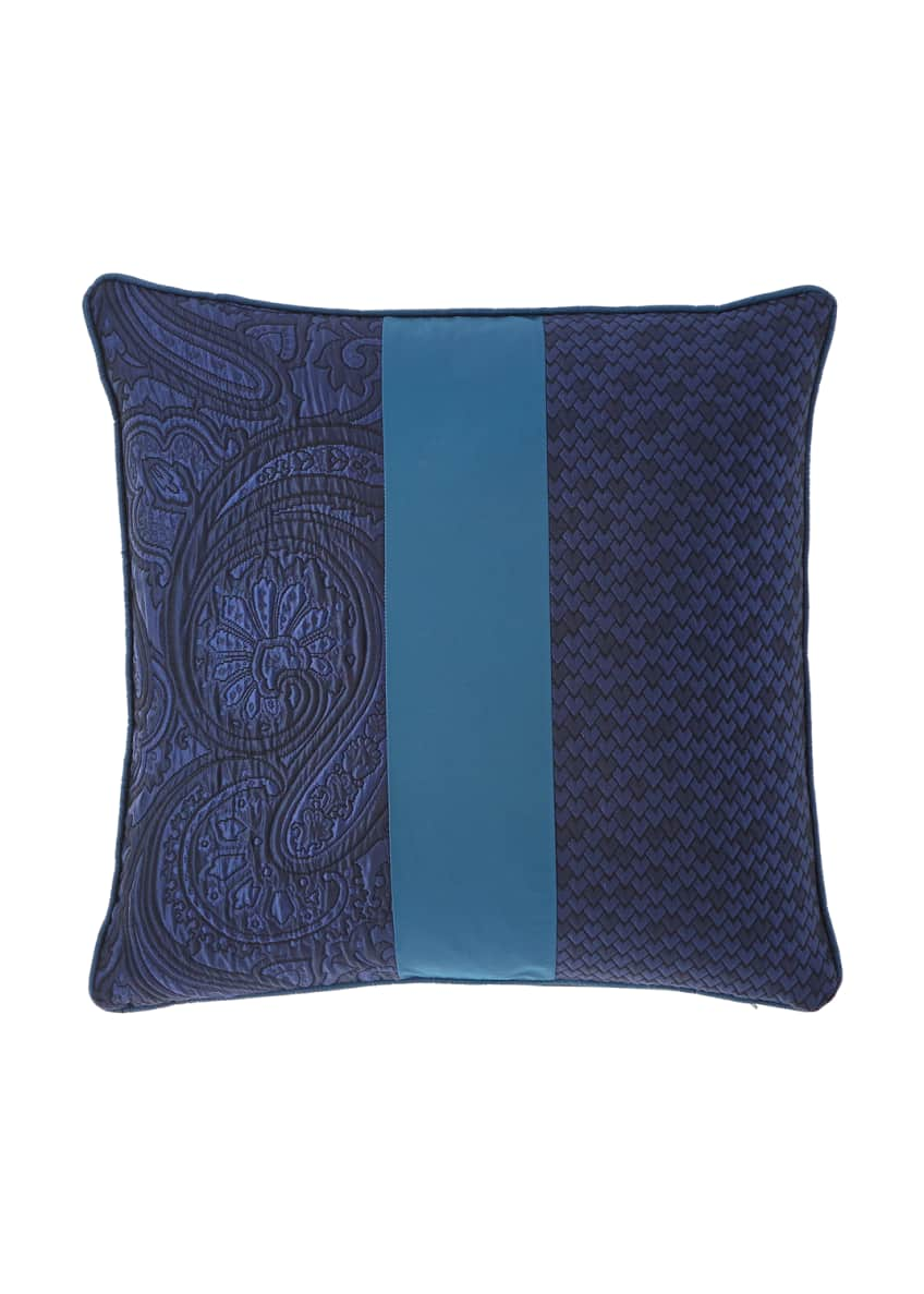 Etro Pieced Decorative Pillow, 18
