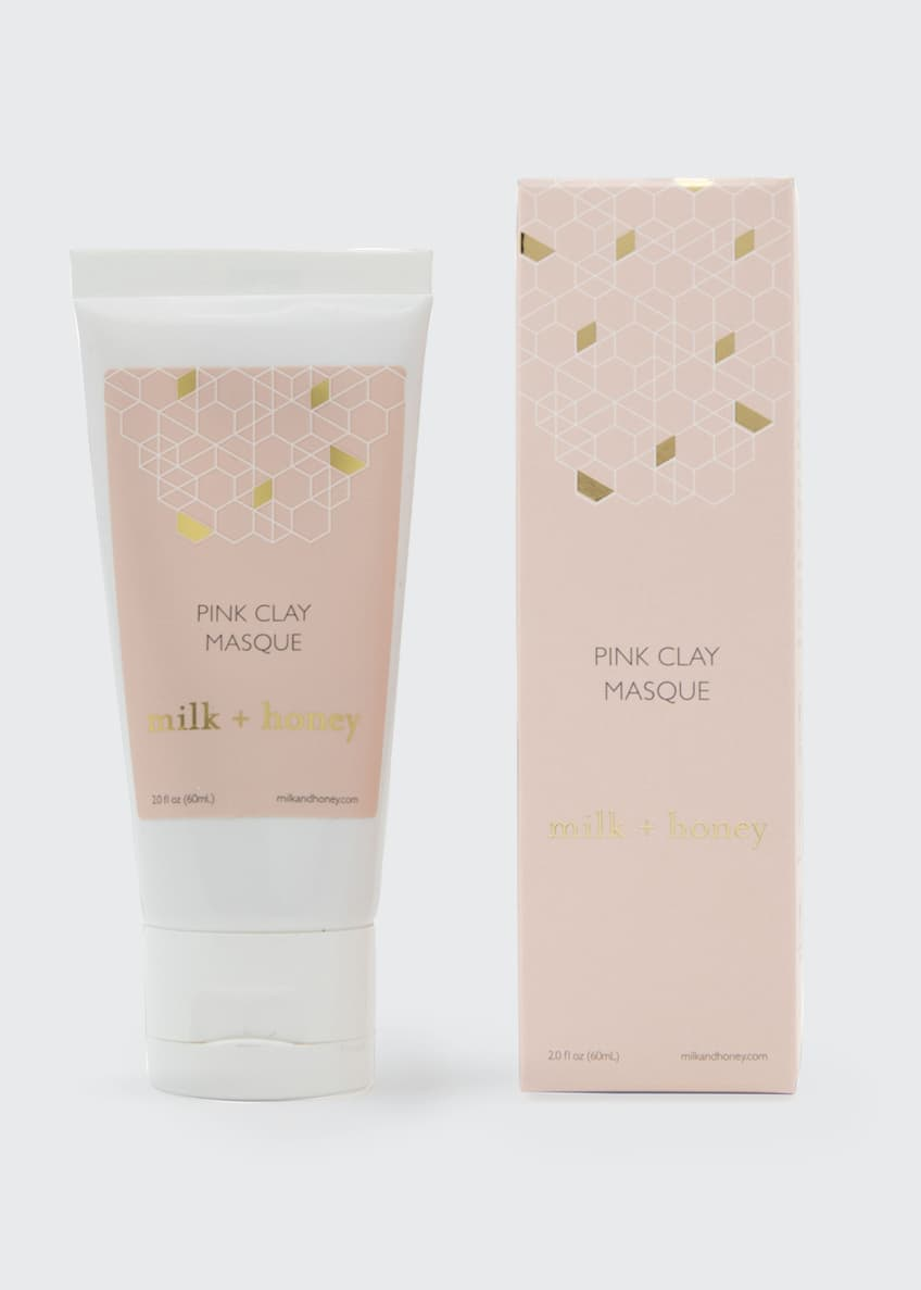 Milk + honey Pink Clay Masque, 2 oz / 60 ml - Bergdorf Goodman