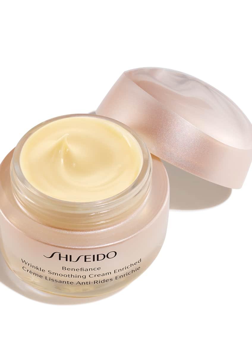 Shiseido Benefiance Wrinkle Smoothing Cream Enriched, 1.7 oz./ 50 mL - Bergdorf Goodman