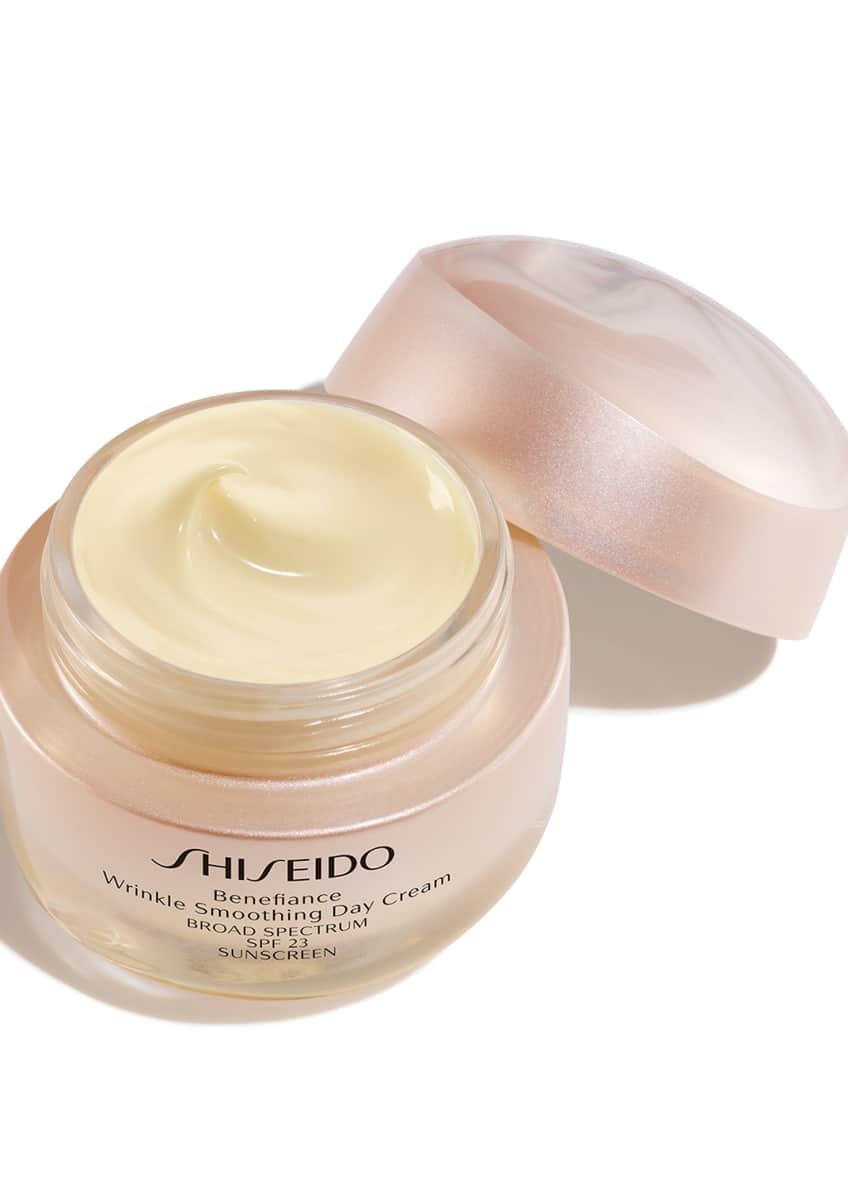 Shiseido Benefiance Wrinkle Smoothing Day Cream SPF 23, 1.7 oz./ 50 mL - Bergdorf Goodman