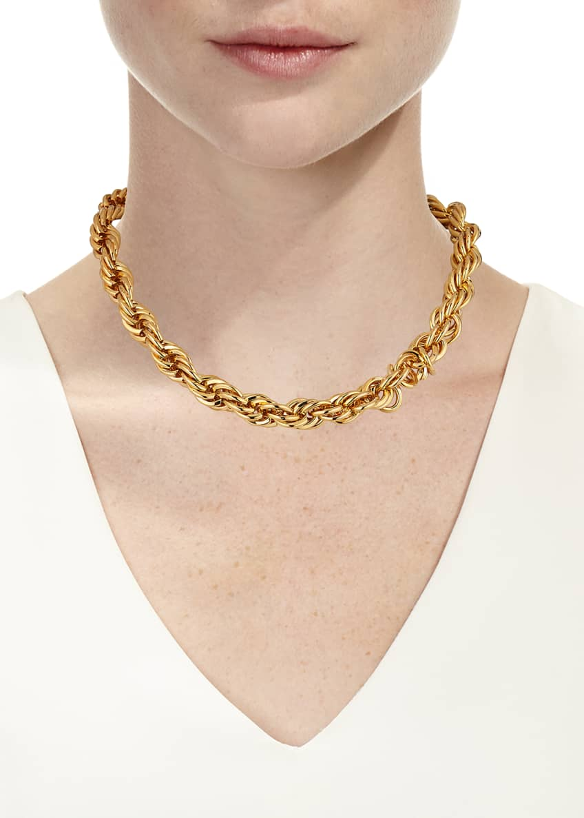 Image 2 of 2: Yacht Club X Wide Choker Necklace