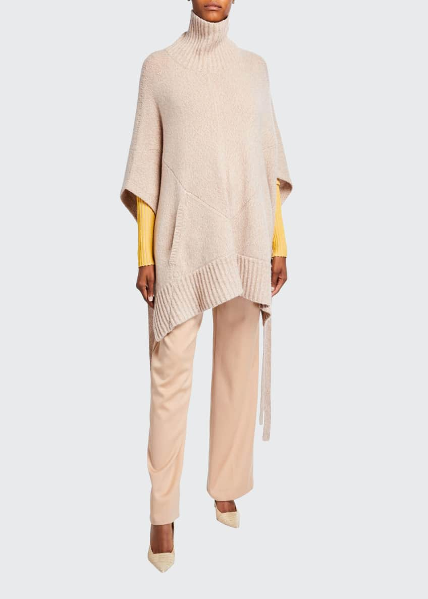 Sies Marjan Cashmere Turtleneck Poncho & Matching Items