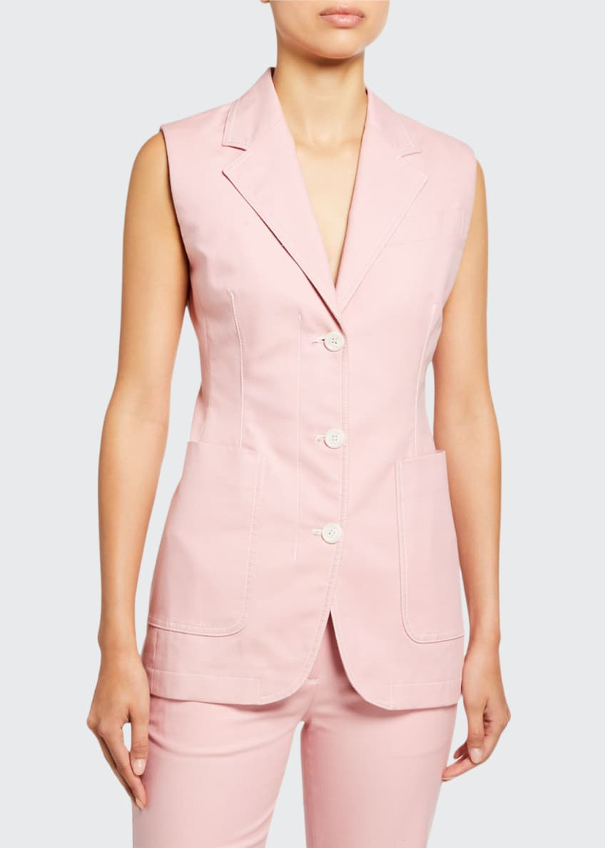 Sies Marjan Cotton Canvas Vest & Matching Items