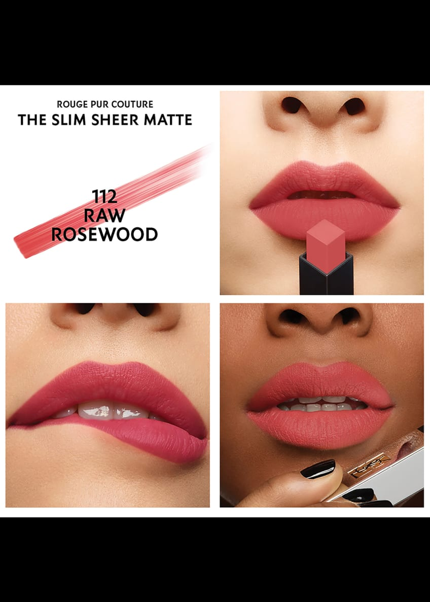 Image 3 of 5: Rouge Pur Couture The Slim Sheer Matte Lipstick