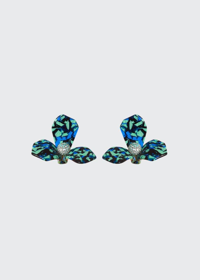 Lele Sadoughi Trillion Stud Earrings