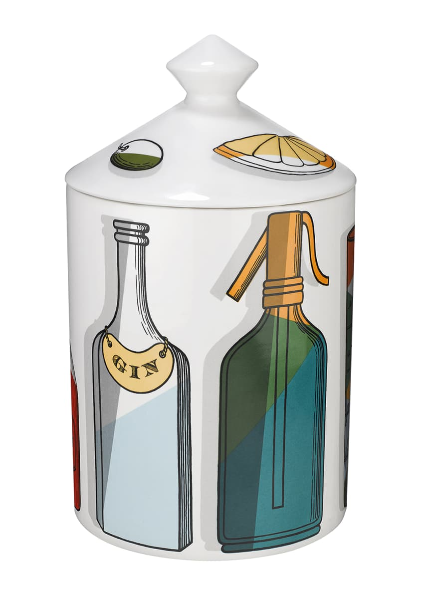 Fornasetti Cocktail Candle, 300g - Bergdorf Goodman