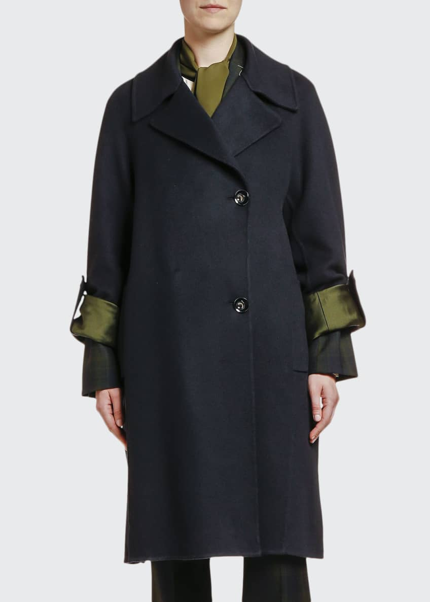 Marni Wool-Cashmere Two-Button Duster Coat & Matching Items