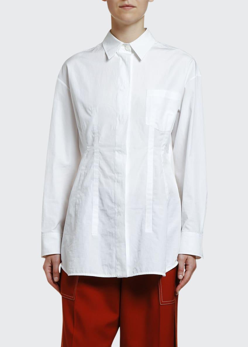 Marni Princess Seamed Poplin Shirt & Matching Items