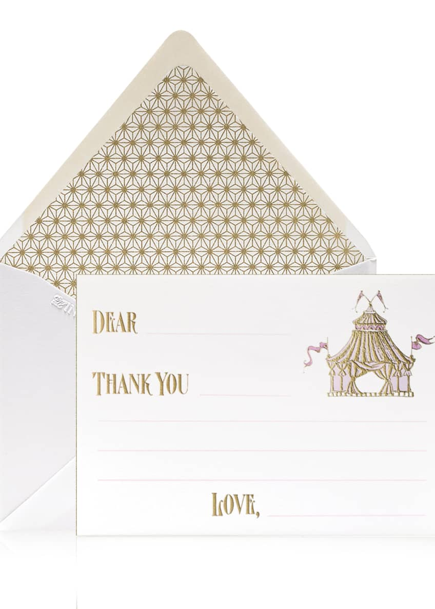 Bell'INVITO Circus Boy Thank You Cards, Box of