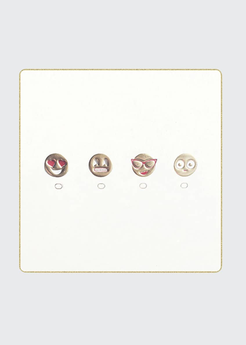 Image 1 of 2: Emoji Coasters, Set of 18
