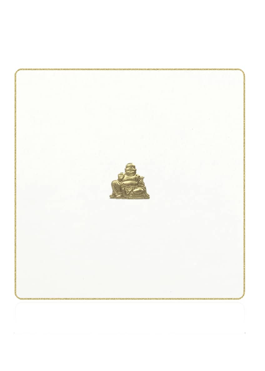 Bell'INVITO Happy Buddha Stationery Set, Box of 10