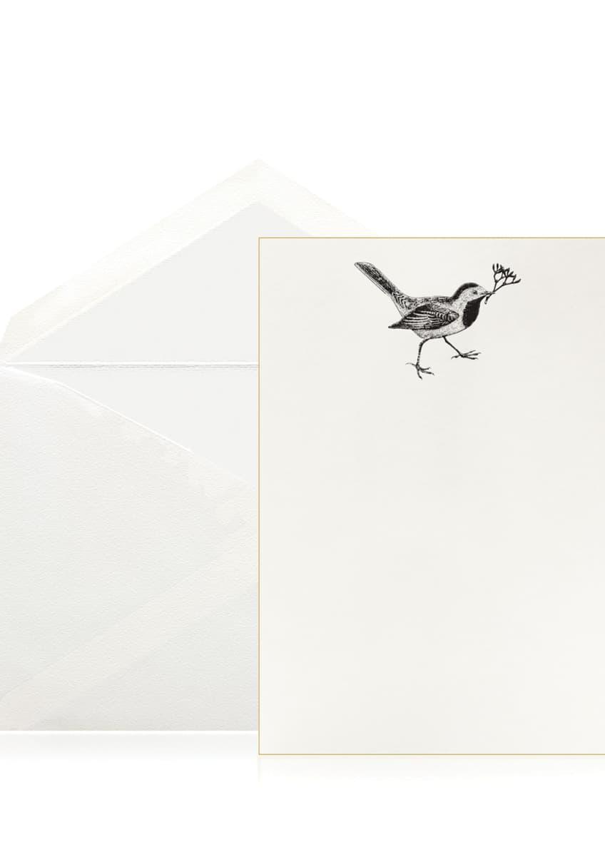 Bell'INVITO Mistletoe Messenger Stationery Set, Box of 10