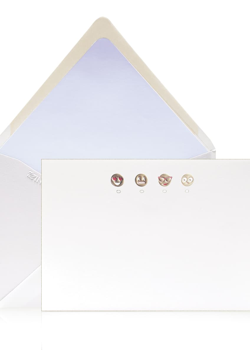 Image 1 of 1: Emoji Stationery Set, Box of 12
