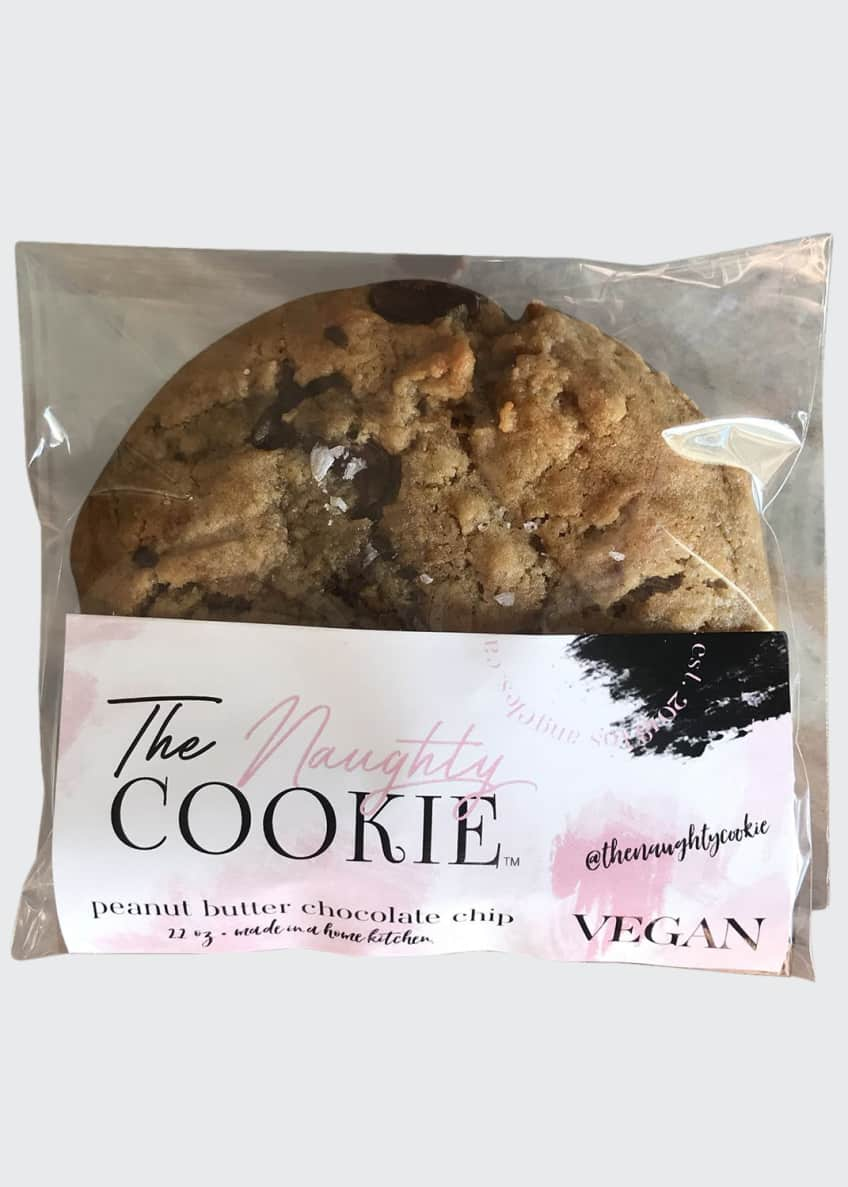 Image 1 of 4: Vegan Peanut Butter Chocolate Chip Cookies, 8-Pack