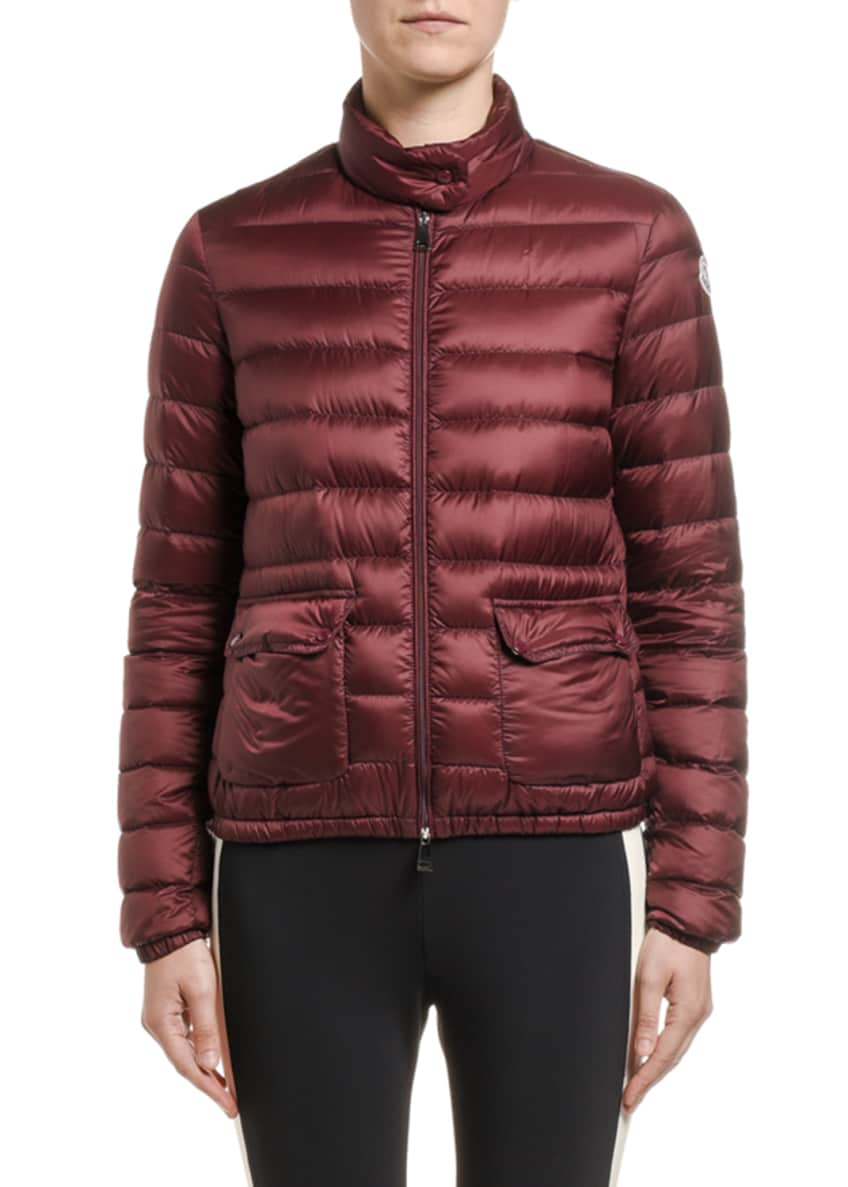 Moncler Lans Channel-Quilt Puffer Coat & Matching Items