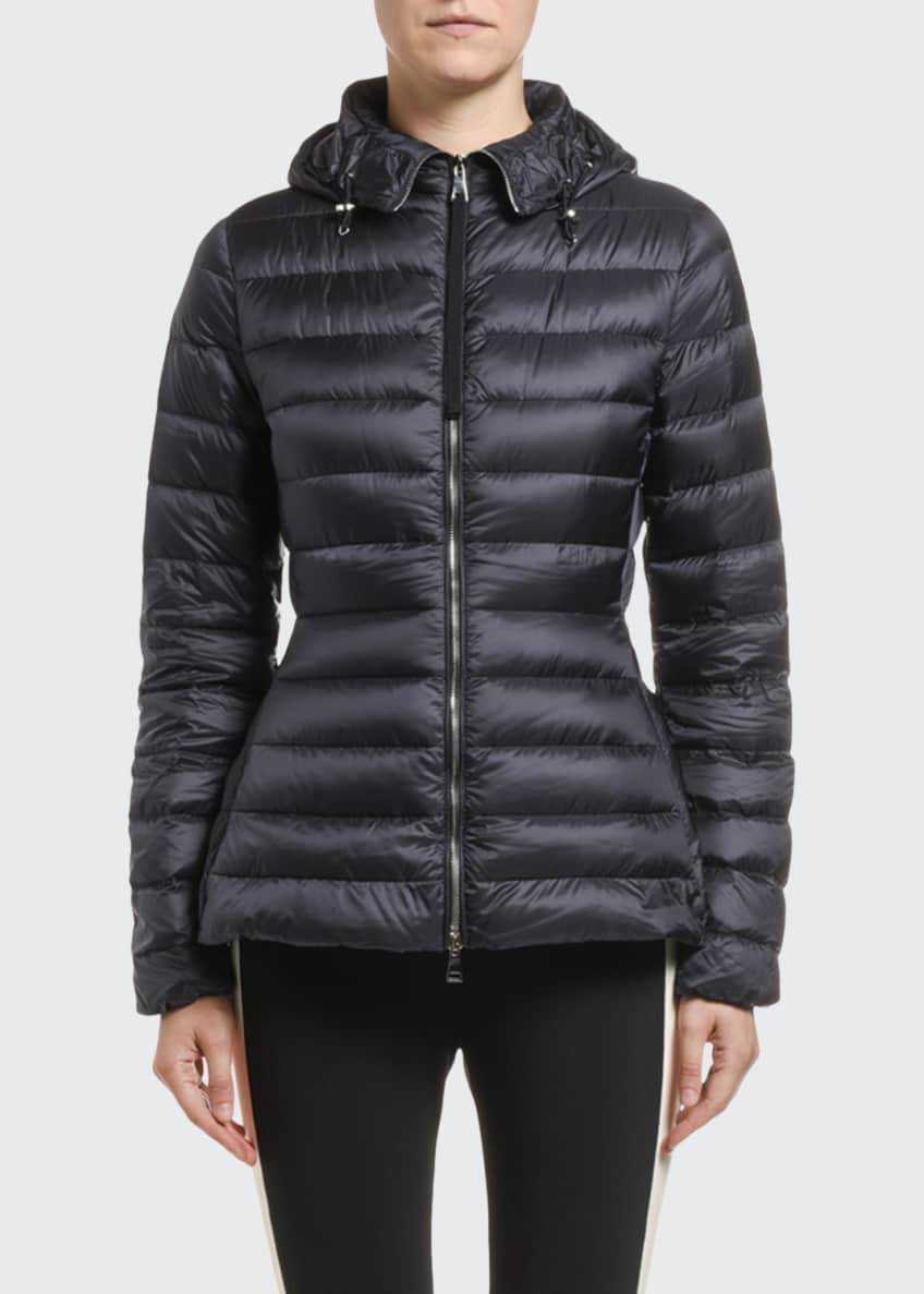 Moncler Amethyste Hooded Puffer Coat & Matching Items