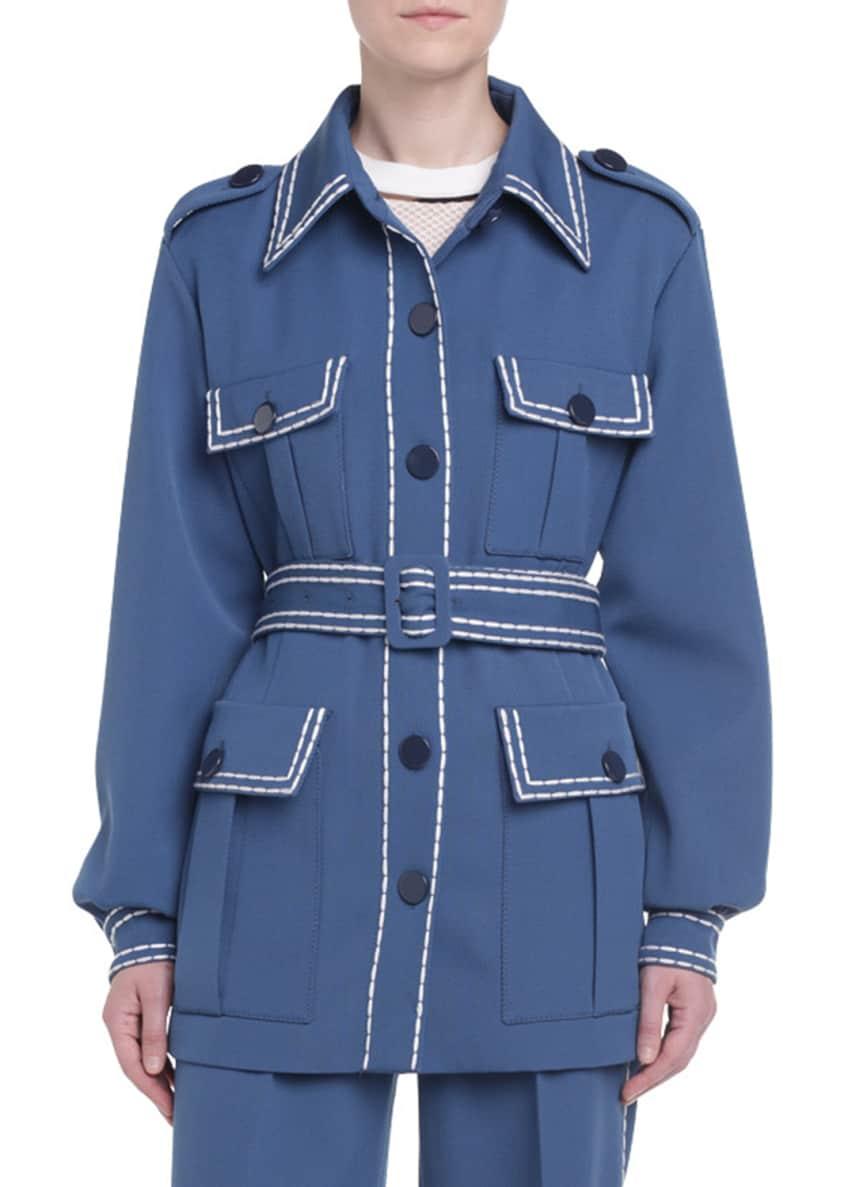 Fendi Safari Gabardine Jacket & Matching Items