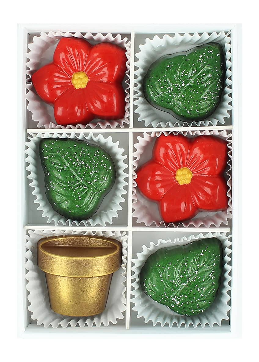 Maggie Louise Winter Blooms Chocolate Gift Box