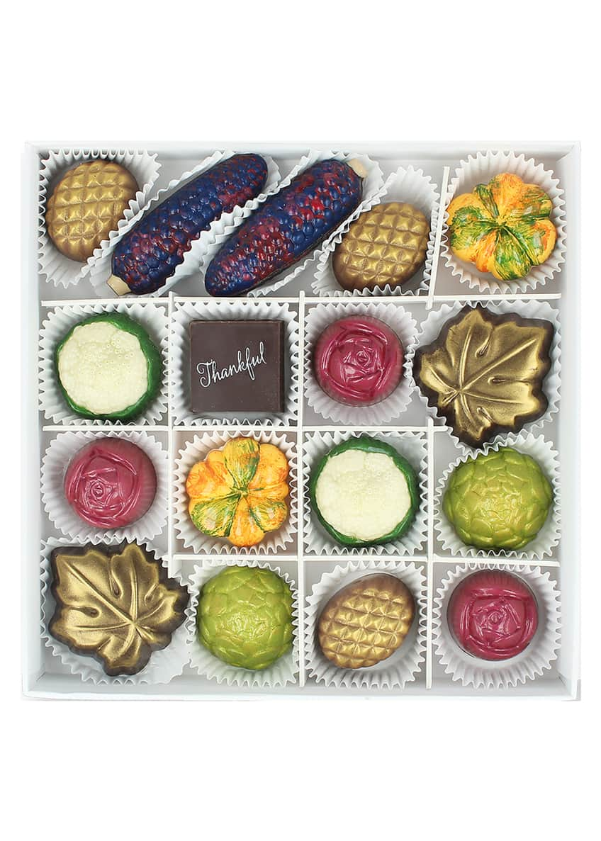 Maggie Louise 16-Piece Harvest Chocolate Gift Box
