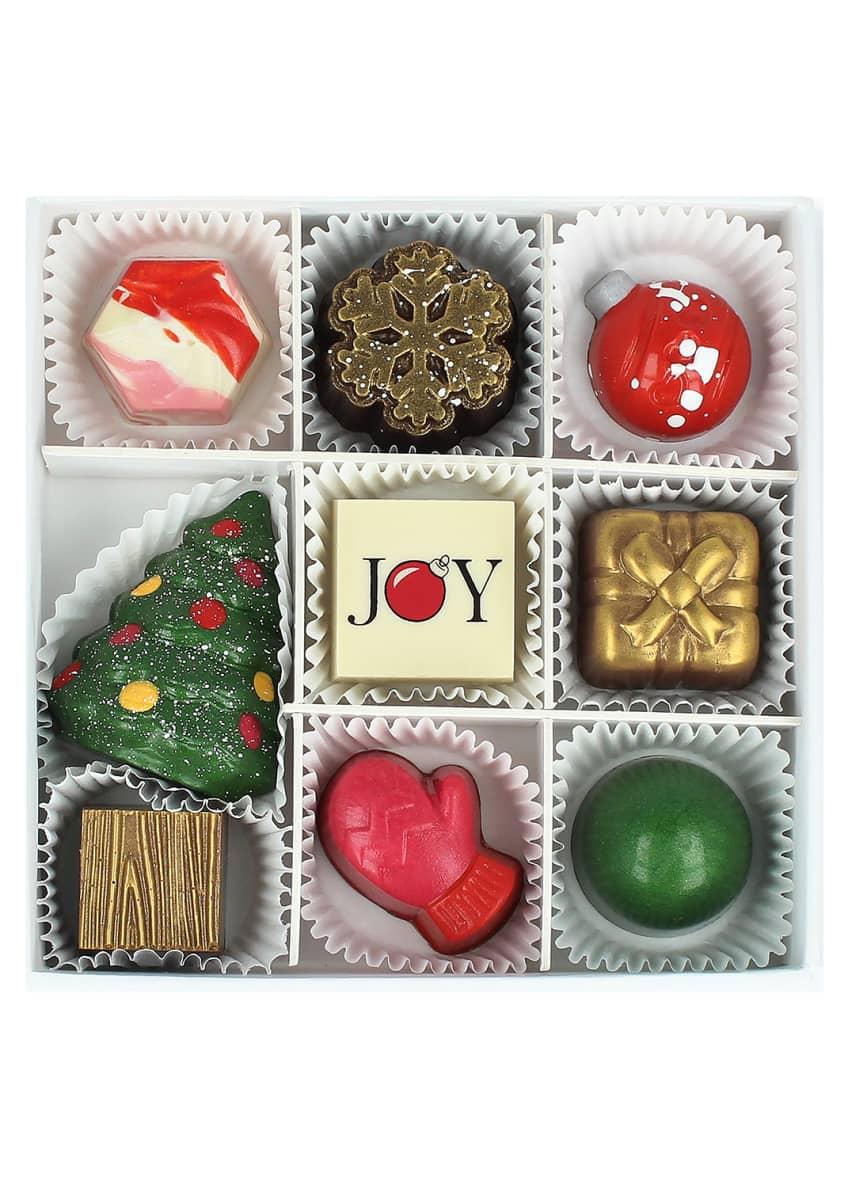 Maggie Louise 9-Piece Joyous Season Chocolate Gift Box