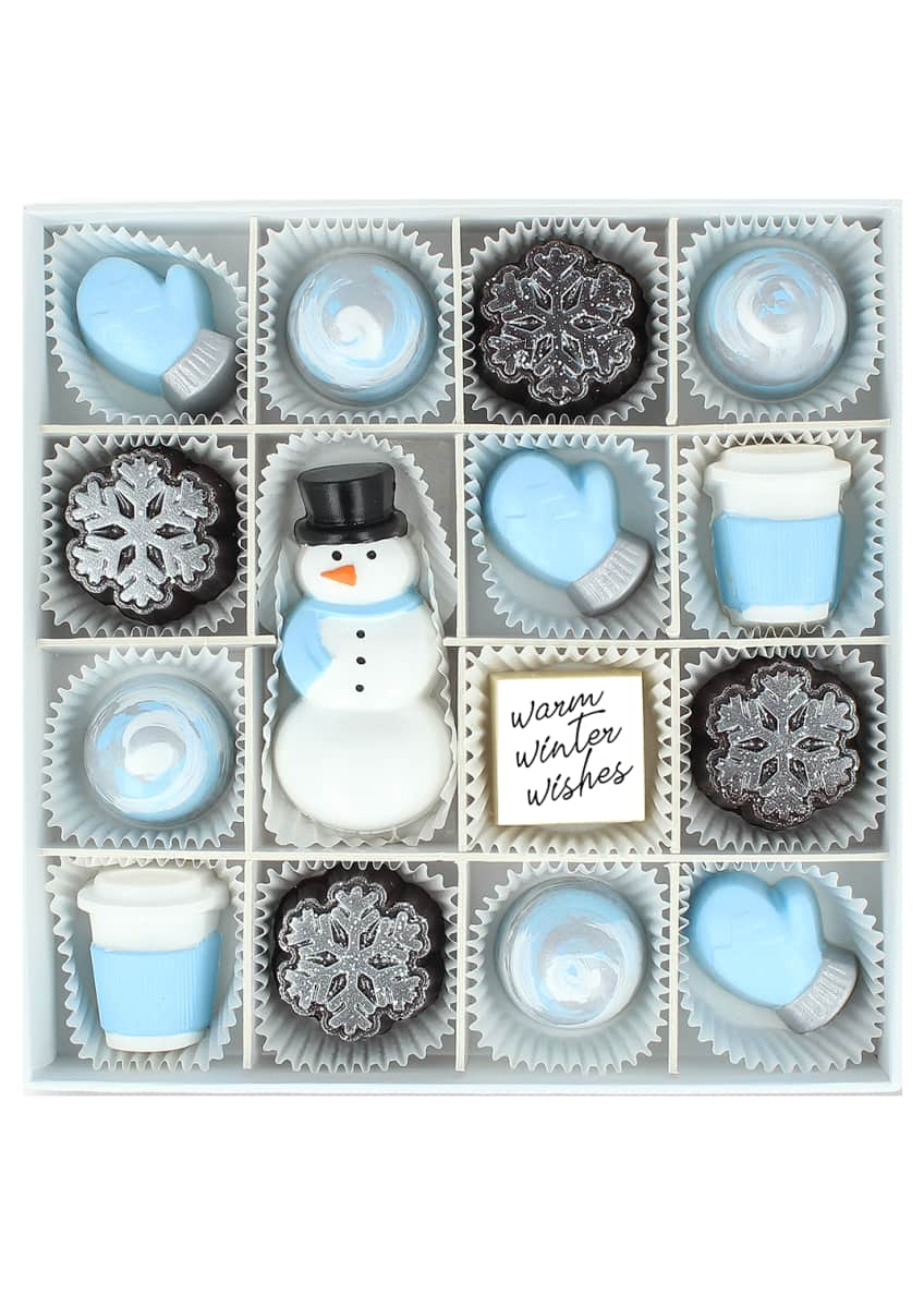 Maggie Louise Blizzard Bliss Chocolate Gift Box