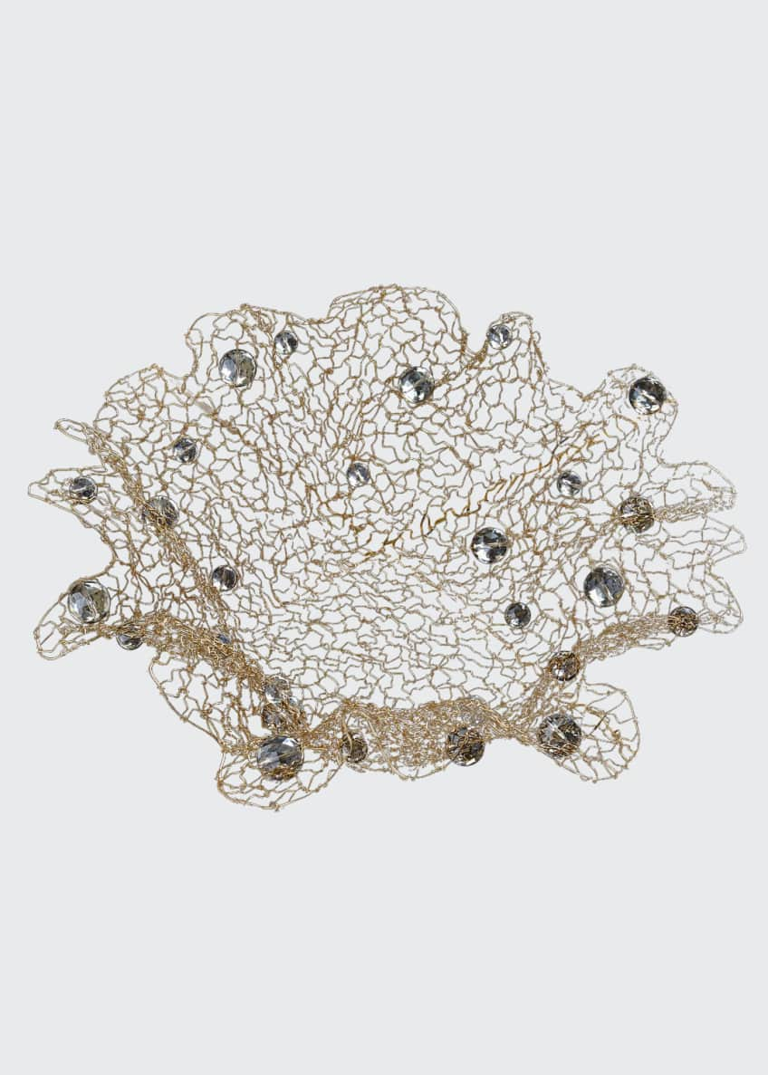 Joseph Williams Clear Crystal Lace Bowl