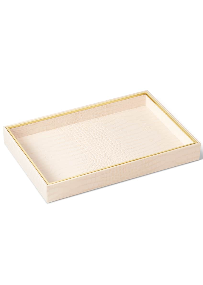 Image 2 of 3: Shagreen Vanity Tray