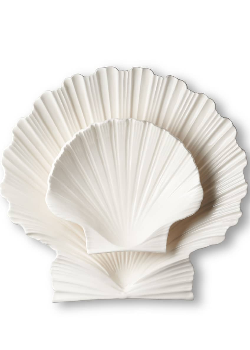 Image 3 of 4: Shell Large Platter