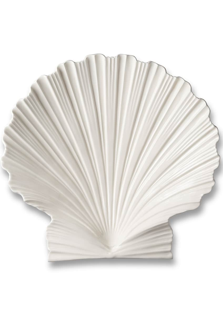 Image 4 of 4: Shell Large Platter