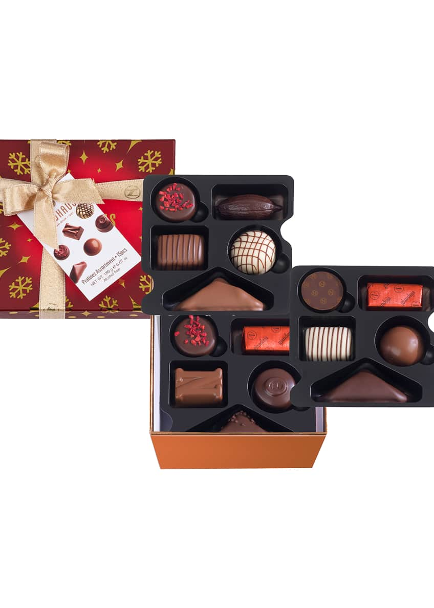 Neuhaus Chocolate 15-Piece Medium Pralines Assortment Gift Box