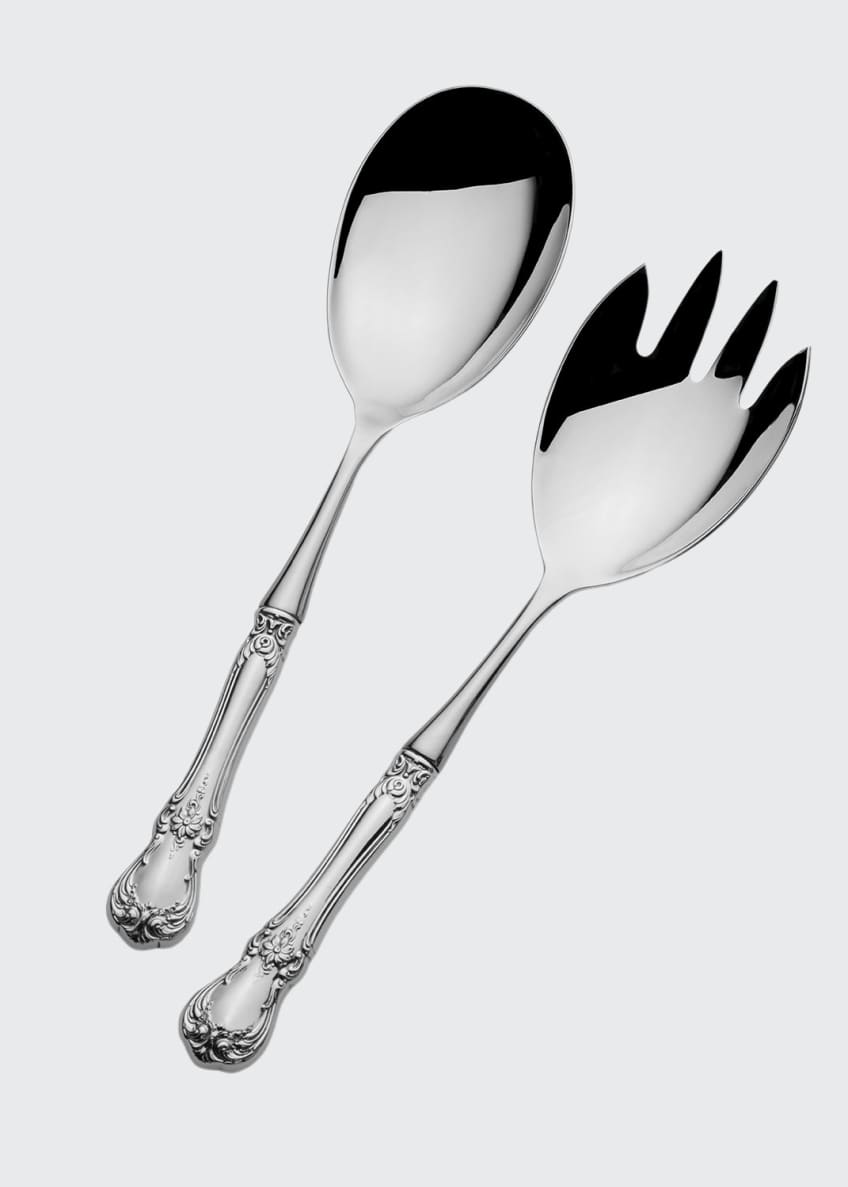 Towle Silversmiths Old Master 2-Piece Salad Serving Set